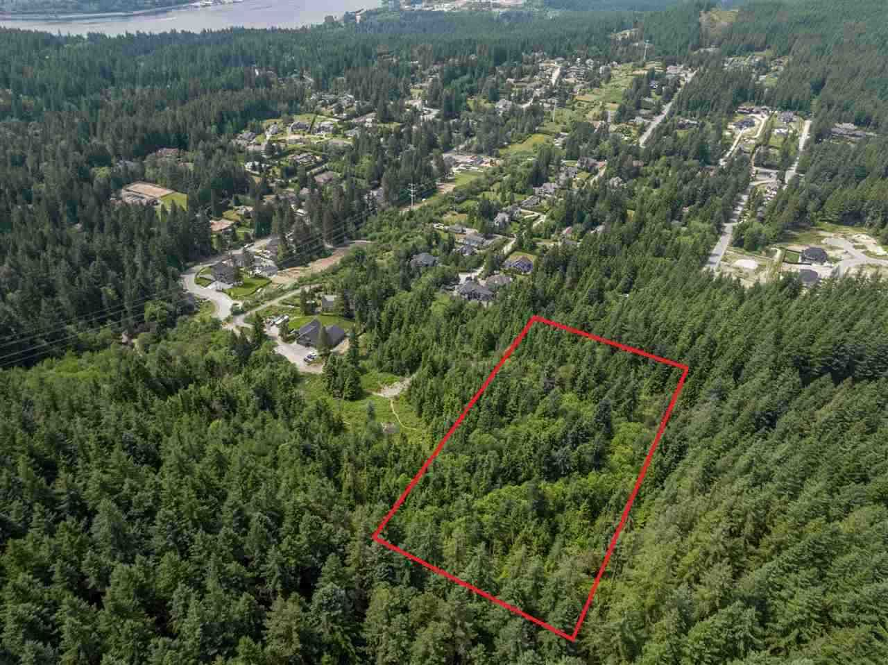 Main Photo: 2982 SUNNYSIDE Road: Anmore Land for sale (Port Moody)  : MLS®# R2532814