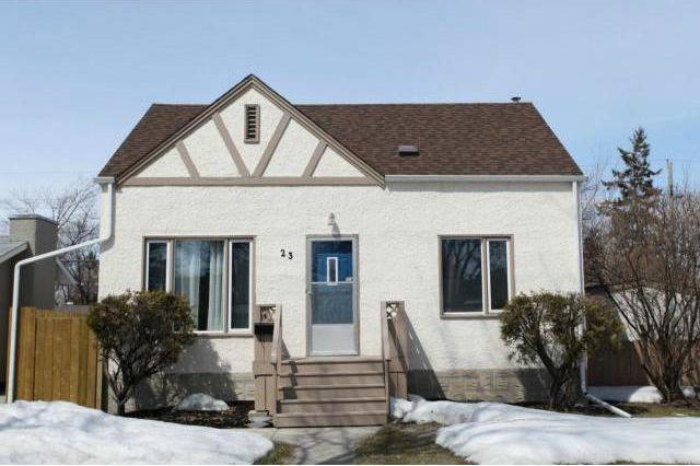 Main Photo: 23 Imperial Avenue in Winnipeg: St Vital House for sale (2D)  : MLS®# 1704215