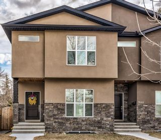 Main Photo: 7442 21 Street SE in Calgary: Ogden Semi Detached for sale : MLS®# A1094296