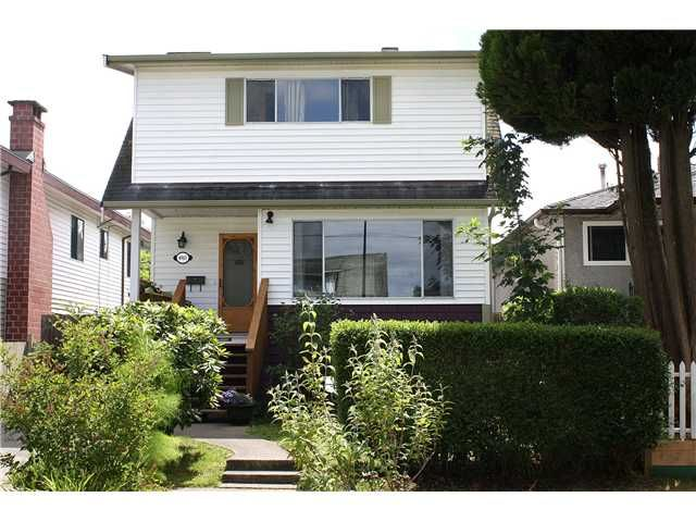 Main Photo: 4960 MOSS Street in Vancouver: Collingwood VE House for sale (Vancouver East)  : MLS®# V899142