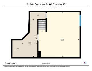 Photo 49: 22 13403 CUMBERLAND Road in Edmonton: Zone 27 House Half Duplex for sale : MLS®# E4266223