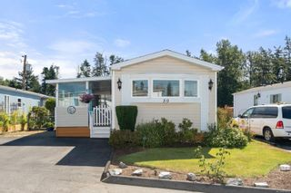 Photo 1: 50 7701 Central Saanich Rd in : CS Hawthorne Manufactured Home for sale (Central Saanich)  : MLS®# 885603