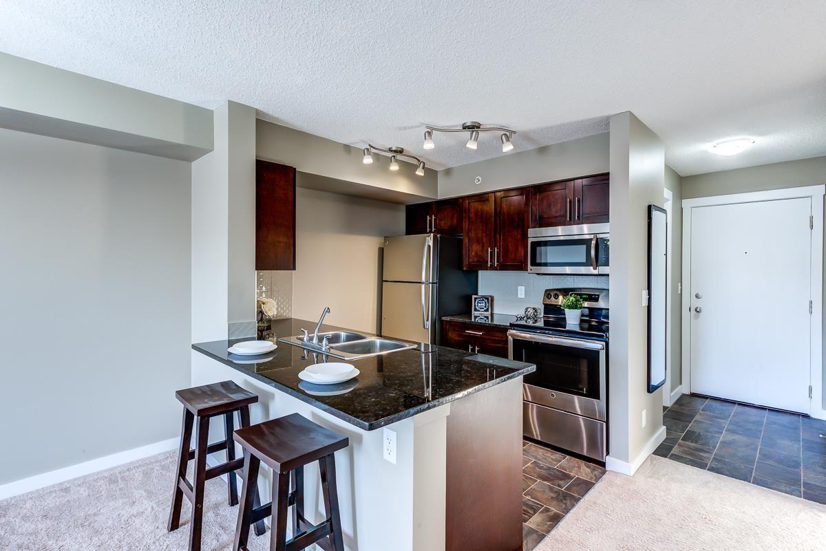 Main Photo: 406 3211 JAMES MOWATT Trail in Edmonton: Zone 55 Condo for sale : MLS®# E4248053