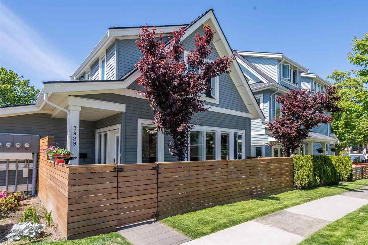 Main Photo: 3929 WELWYN Street in Vancouver: Victoria VE Townhouse for sale (Vancouver East)  : MLS®# R2591958