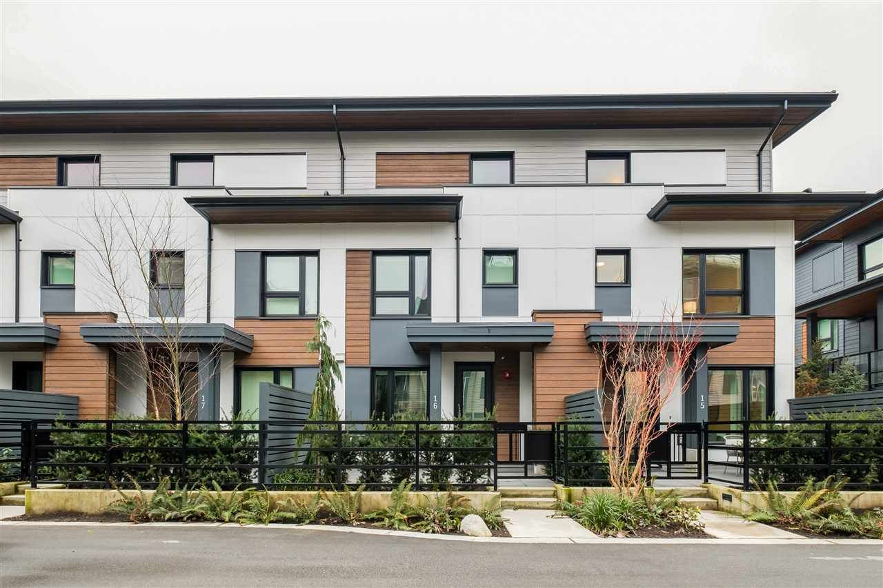 """Main Photo: TH16 528 E 2ND Street in North Vancouver: Lower Lonsdale Townhouse for sale in """"Founder Block South"""" : MLS®# R2540975"""