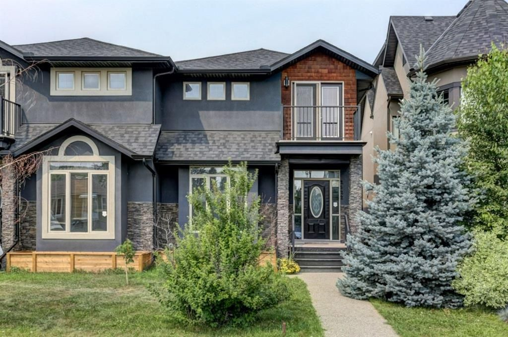 Main Photo: 2522 2 Avenue NW in Calgary: West Hillhurst Semi Detached for sale : MLS®# A1147806