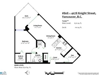 Photo 11: 808 4078 KNIGHT Street in Vancouver: Knight Condo for sale (Vancouver East)  : MLS®# R2401251