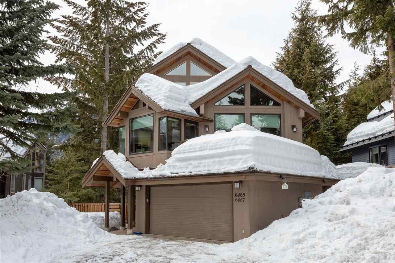 Main Photo: 6467 ST ANDREWS WAY in Whistler: Whistler Cay Heights 1/2 Duplex for sale : MLS®# R2346758