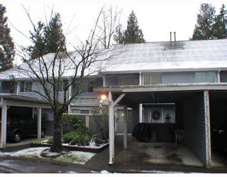 """Photo 1: 8206 FOREST GROVE Drive in Burnaby: Forest Hills BN Townhouse for sale in """"HENLEY ESTATES"""" (Burnaby North)  : MLS®# V681739"""