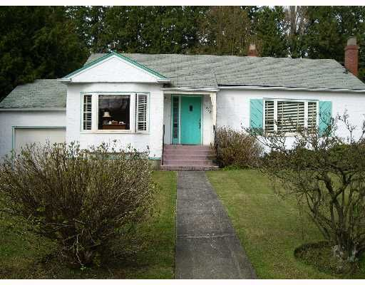 Main Photo: 1319 W 41ST Ave in Vancouver: Shaughnessy House for sale (Vancouver West)  : MLS®# V638968