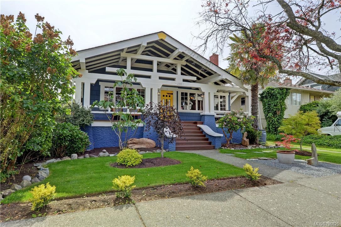 Stunning view of this Californian Craftsman home. Outstanding location close to all amenities.
