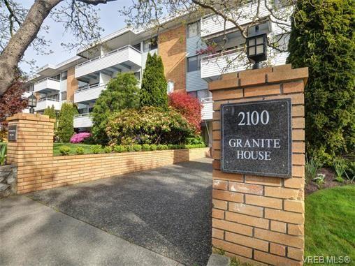 Main Photo: 212 2100 Granite St in VICTORIA: OB South Oak Bay Condo for sale (Oak Bay)  : MLS®# 752114