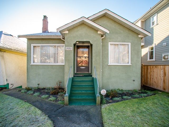 Main Photo: 1930 E 8TH Avenue in Vancouver: Grandview VE House for sale (Vancouver East)  : MLS®# R2018099