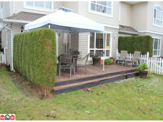 """Photo 10: 23 6513 200TH Street in Langley: Willoughby Heights Townhouse for sale in """"LOGIN CREEK"""" : MLS®# F1129284"""