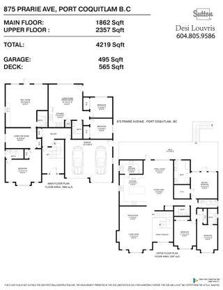 Photo 40: 875 PRAIRIE Avenue in Port Coquitlam: Lincoln Park PQ House for sale : MLS®# R2489447