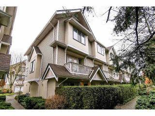 "Photo 1: 33 4933 FISHER Drive in Richmond: West Cambie Townhouse for sale in ""FISHER GARDEN"" : MLS®# V1095792"