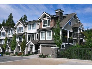 "Photo 1: 102 1480 SOUTHVIEW Street in Coquitlam: Burke Mountain Townhouse for sale in ""CEDAR CREEK NORTH"" : MLS®# V1088331"