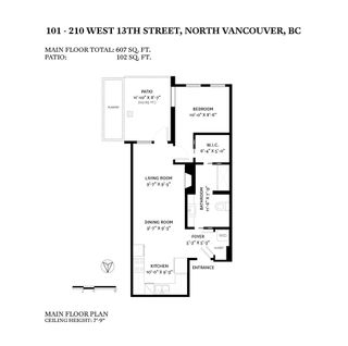 "Photo 19: 101 210 W 13TH Street in North Vancouver: Central Lonsdale Condo for sale in ""THE KIMPTON"" : MLS®# R2517290"