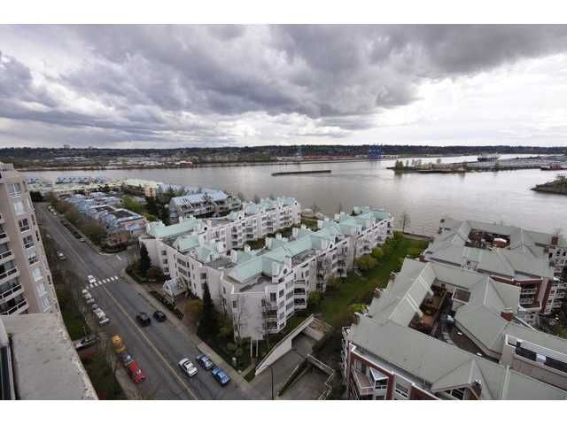 "Photo 1: Photos: 1806 1235 QUAYSIDE Drive in New Westminster: Quay Condo for sale in ""THE RIVERA"" : MLS®# V822108"