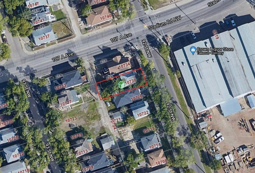 Main Photo: 10730 92 Street in Edmonton: Zone 13 Vacant Lot for sale : MLS®# E4258039