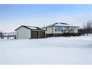 Photo 1: 378052 16 Street W: Rural Foothills M.D. House for sale : MLS®# C4042671