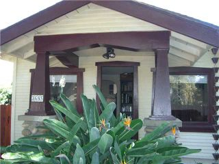 Photo 3: NORTH PARK House for sale : 2 bedrooms : 3685 Alabama Street in San Diego