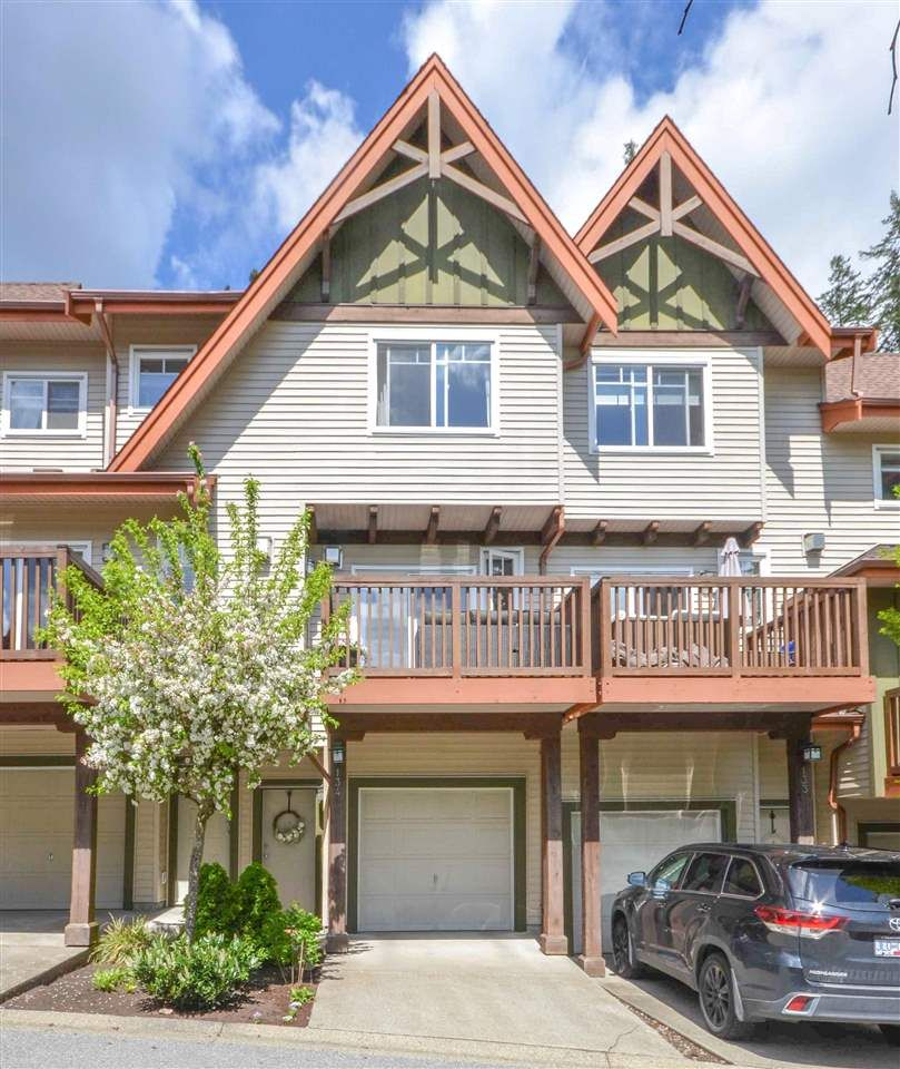 "Main Photo: 134 2000 PANORAMA Drive in Port Moody: Heritage Woods PM Townhouse for sale in ""MOUNTAIN'S EDGE"" : MLS®# R2575629"