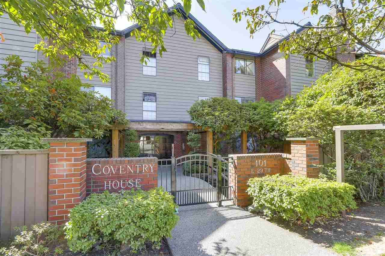 "Main Photo: 204 101 E 29TH Street in North Vancouver: Upper Lonsdale Condo for sale in ""COVENTRY HOUSE"" : MLS®# R2199430"