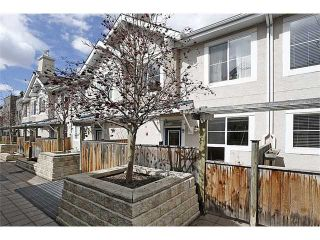 Photo 1: 9 2001 34 Avenue SW in CALGARY: Altadore_River Park Townhouse for sale (Calgary)  : MLS®# C3611257