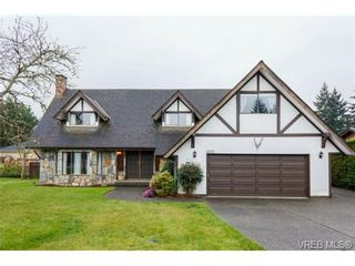 Photo 1: 1055 Damelart Way in BRENTWOOD BAY: CS Brentwood Bay House for sale (Central Saanich)  : MLS®# 697420