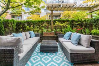 """Photo 1: 106 3240 ST JOHNS Street in Port Moody: Port Moody Centre Condo for sale in """"THE SQUARE"""" : MLS®# R2586549"""