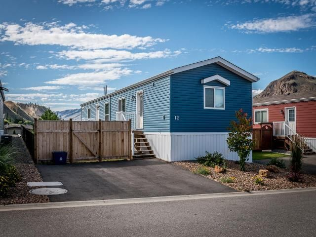 Main Photo: 12 7805 DALLAS DRIVE in Kamloops: Campbell Creek/Deloro Manufactured Home/Prefab for sale : MLS®# 152738