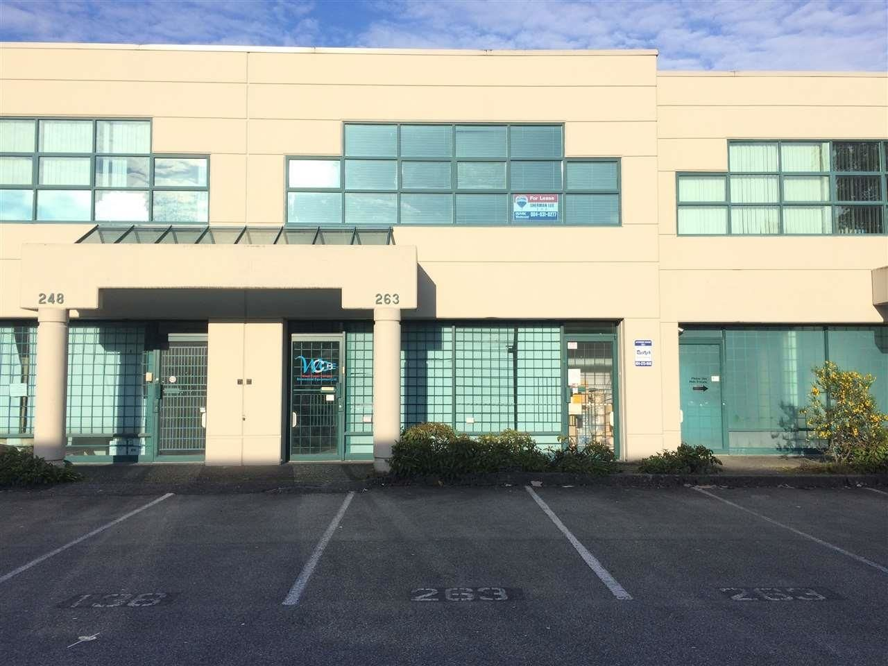 Main Photo: 263 13986 CAMBIE Road in Richmond: East Cambie Industrial for lease : MLS®# C8039848