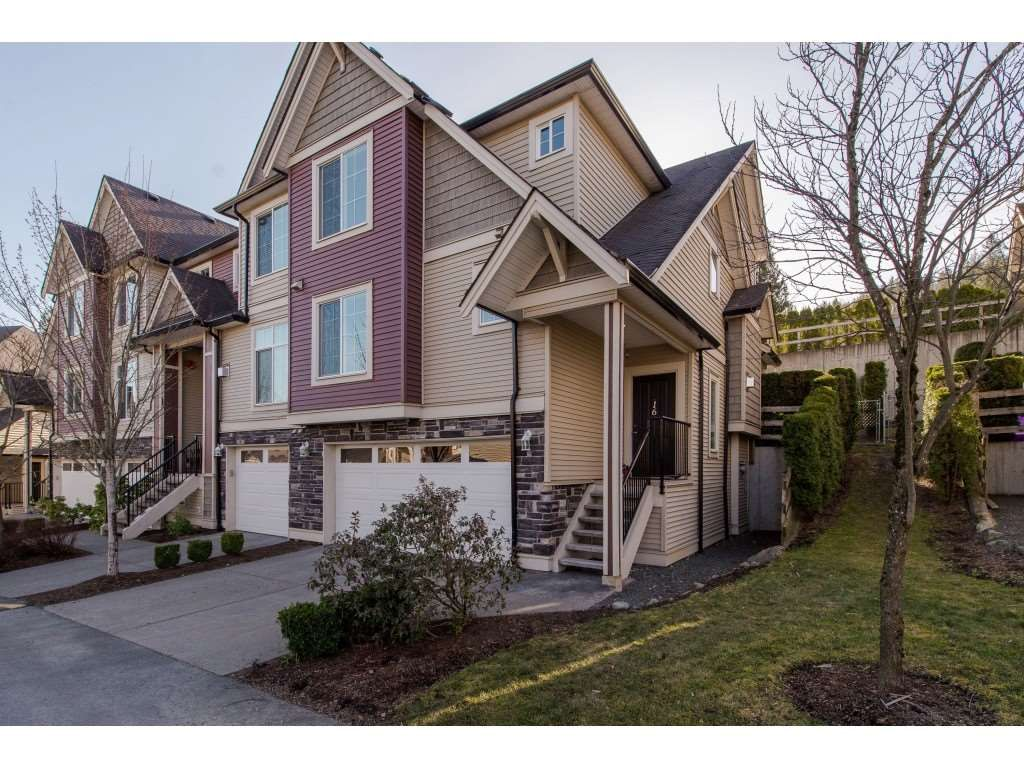 """Main Photo: 16 46832 HUDSON Road in Sardis: Promontory Townhouse for sale in """"Cornerstone Haven"""" : MLS®# R2350745"""