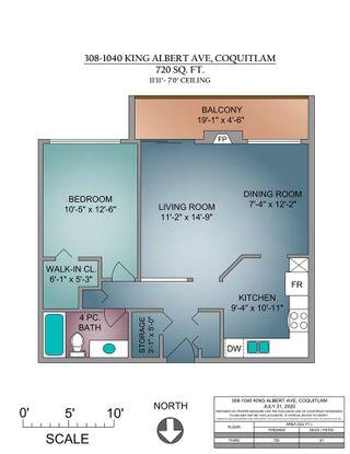 Photo 22: 308 1040 KING ALBERT AVENUE in Coquitlam: Central Coquitlam Condo for sale : MLS®# R2480296