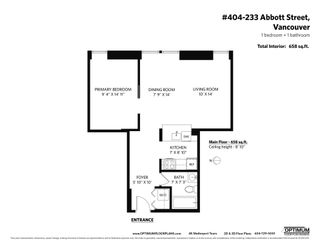 """Photo 25: 404 233 ABBOTT Street in Vancouver: Downtown VW Condo for sale in """"Abbott Place"""" (Vancouver West)  : MLS®# R2617802"""