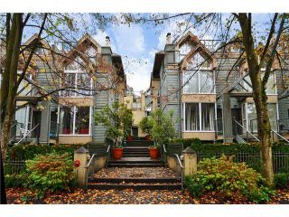 Photo 1: 3015 LAUREL Street in Vancouver: Fairview VW Townhouse for sale (Vancouver West)  : MLS®# V1089768