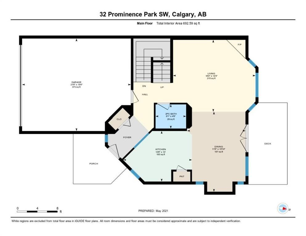 Photo 43: Photos: 32 Prominence Park SW in Calgary: Patterson Row/Townhouse for sale : MLS®# A1112438