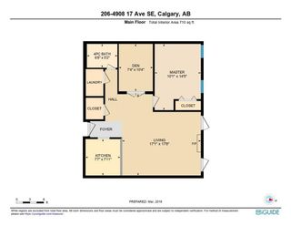 Photo 1: 206 4908 17 Avenue SE in Calgary: Forest Lawn Apartment for sale : MLS®# C4305197