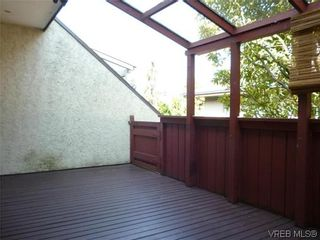 Photo 12: 9 954 Queens Ave in VICTORIA: Vi Central Park Row/Townhouse for sale (Victoria)  : MLS®# 635707