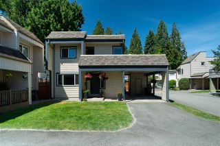 """Photo 1: 34 2986 COAST MERIDIAN Road in Port Coquitlam: Birchland Manor Townhouse for sale in """"MERIDIAN GARDENS"""" : MLS®# R2380834"""