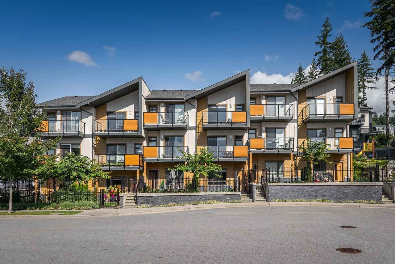 Main Photo: 108 3525 CHANDLER ST in COQUITLAM: Burke Mountain Townhouse for sale (Coquitlam)  : MLS®# R2409580