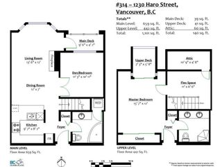 """Photo 32: 314 1230 HARO Street in Vancouver: West End VW Condo for sale in """"1230 HARO"""" (Vancouver West)  : MLS®# R2614987"""