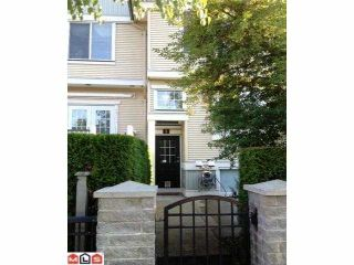 """Photo 1: 2 8383 159TH Street in Surrey: Fleetwood Tynehead Townhouse for sale in """"AVALON WOOD"""" : MLS®# F1220258"""