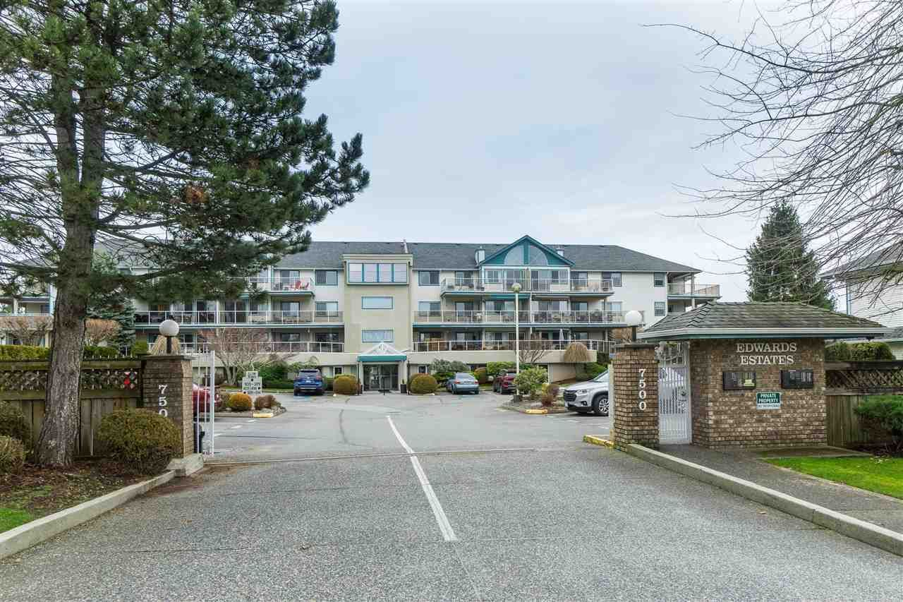 "Main Photo: 305 7500 COLUMBIA Street in Mission: Mission BC Condo for sale in ""Edwards Estates"" : MLS®# R2483286"