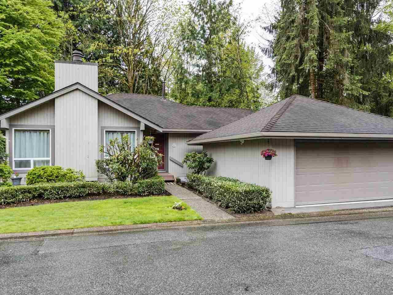 """Main Photo: 9502 WILLOWLEAF Place in Burnaby: Forest Hills BN Townhouse for sale in """"Willowleaf"""" (Burnaby North)  : MLS®# R2588078"""