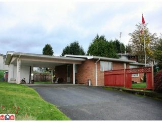Photo 1: 33338 GEORGE FERGUSON Way in Abbotsford: Central Abbotsford House for sale : MLS®# F1026787