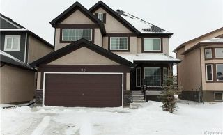 Photo 1: 90 Buckley Trow Bay in Winnipeg: River Park South Residential for sale (2F)  : MLS®# 1800955