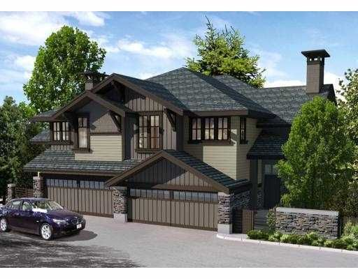"""Main Photo: 17 555 RAVENWOODS Drive in North Vancouver: Roche Point Townhouse for sale in """"The Signature Estates @ Ravenwoods"""" : MLS®# V791184"""