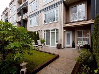 """Photo 5: 105 3600 WINDCREST Drive in North Vancouver: Roche Point Townhouse for sale in """"WINDSONG"""" : MLS®# V932458"""
